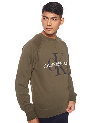 Calvin Klein Jeans Washed Relaxed Monogram Sudadera