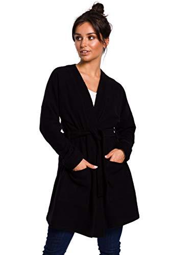 Kimono Style Blazer in zwart