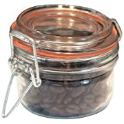 Anchor Hocking 98908 Clamp Top 5 Oz. Mini Heremes Jar - 12 / CS