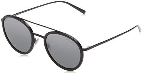 Armani Damen 0AR6051 301488 51 Sonnenbrille, Schwarz (Black/Grey Silver)