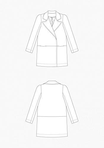 Grainline Studio Schnittmuster Yates Coat