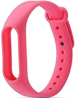 Mobicell Wristband Strap for Fitness Band M2 Smart Bracelet (Device is not Included) (Pink)