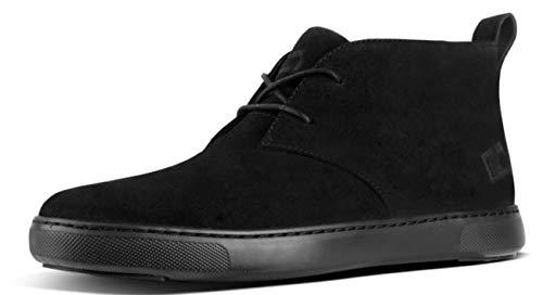 Fitflop Herren Zackery Klassische Stiefel, Black Black Ankle Boots Blk, 42 EU