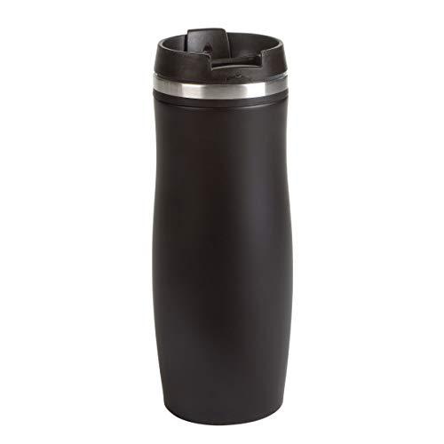 PureDay Coffee to go Becher Crema Black - Schwarz