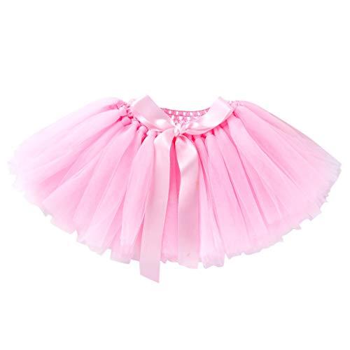 FRAUIT Gonna in Tulle Bambina Tutu di Danza Classica Costume Ballerina Carnevale Balletto Principessa Vestito da Ballo Ragazze