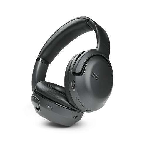 JBL Tour ONE Wireless Noise Cancelling Bluetooth Headphones, Hi-Res Audio, Perfect Voice Clarity Phone Calls, up to 50H Battery, Google Assistant and Amazon Alexa (Black)