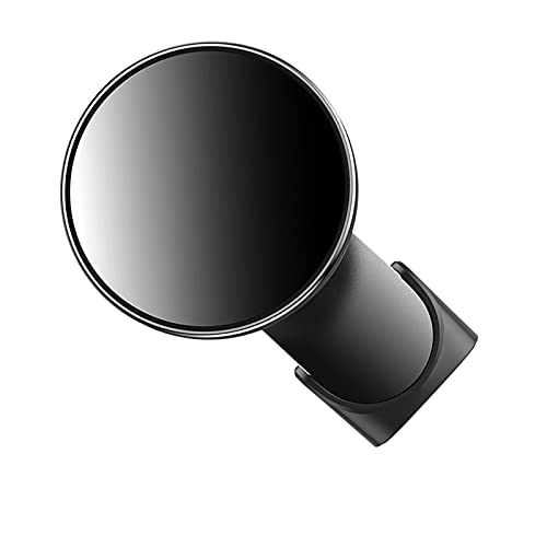 SHUILIANDU Cargador de Coche inalámbrico magnético Cargador de Aire Monte Imán de Soporte de Carga rápida (Color : Black)