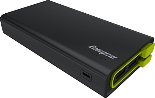 Energizer Powerbank 15000mAh Externer Akku, kompaktes Powerpack mit 3-Ports für Apple iPhone 11 / 11 Pro / 11 Pro Max / Xs / Xs Max / Xr, Huawei Mate 20 Pro / P20 Pro uvm