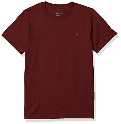 Champion Men's Classic Jersey T-Shirt, Maroon, XL
