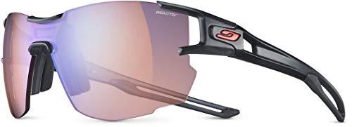 Julbo J4963414 Sonnenbrille für Erwachsene, Unisex, Schwarz transparent / Schwarz, M