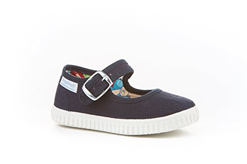 Zapatillas Merceditas de Lona para Niñas, Angelitos mod.123, Calzado Infantil Made in Spain,...