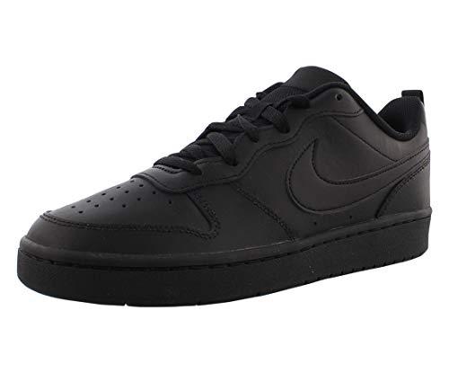 Nike Court Borough Low 2 (GS) Basketballschuhe, Schwarz (Black/Black/Black 1), 40 EU