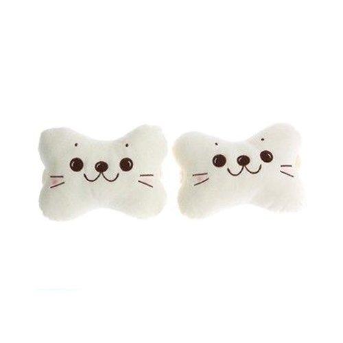 seemehappy Cute Cartoon Sea Lion Car Headrest Pillow Neck Pillow Cushion 2pcs/Pair