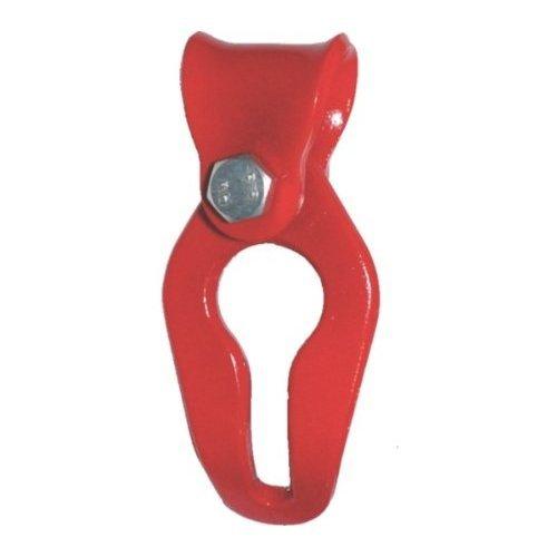 Seilgleitbügel 8mm für Chokerseil, Chokerkette, Forstseil, Forstkette, Güteklasse 8 einfache Montage am Zugseil bis Kettenstärke d=11mm verwendbar w=20mm (siehe Bild)
