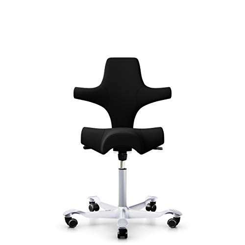 HAG Capisco Black Edition - 8106 Ergonomic Desk Chair (Standing Height)