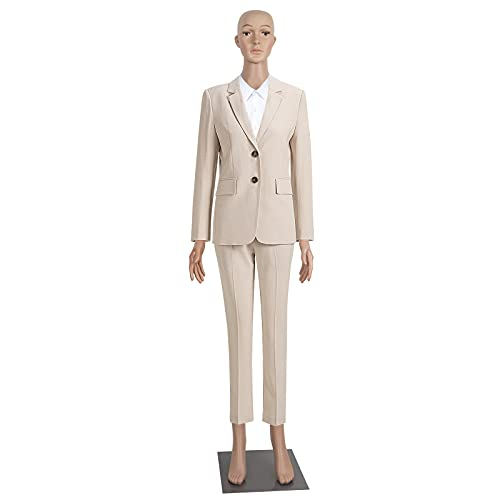 Female Mannequin Full Body Adjustable Mannequin Torso Dress Form with Metal Base 69inches