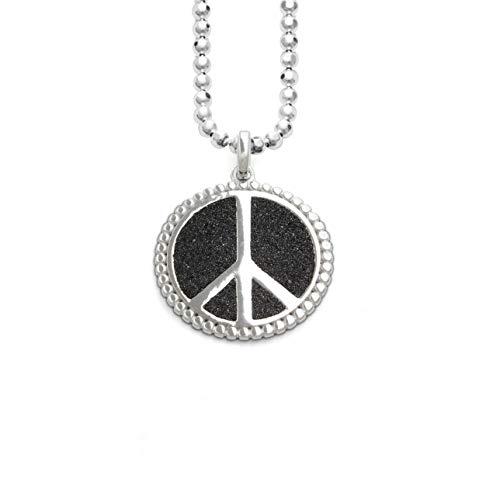 """Dur joyas anillo plata 925/"""" Lucky Dog /""""con lavasand r4663"""