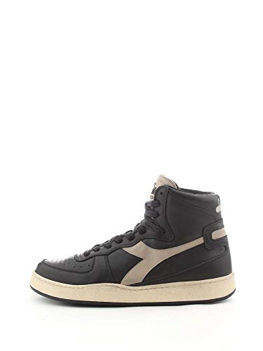 Diadora Heritage Schuh-Sneaker-Unisex-MI-Basketball-Used Schwarz - 36