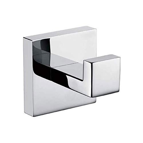 OMING Percheros de Pared Puerta de Entrada baño Gancho de la Toalla de Acero Inoxidable 304 Gancho baño baño Gancho Perchero de Pared Carril de Gancho Moderno