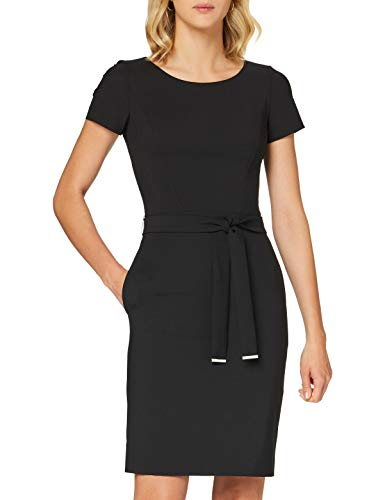 HUGO Damen Kadasi Kleid, Black1, 32