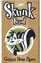 Skunk Brand Single Wide Pure Hemp Rolling Papers (6 Packs)