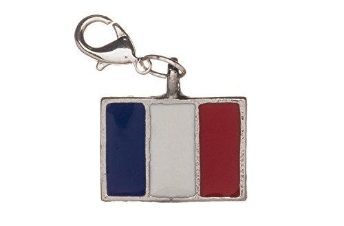 Libby's Market Place - Drapeau français français à clipser - Fait main - Coffret cadeau