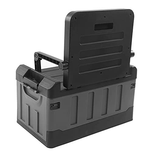 Organizador de maletero de automóvil, contenedor de almacenamiento con asiento plegable, como caja de mantenimiento, para almacenamiento en el hogar, almacenamiento de automóvil Actividades al aire li