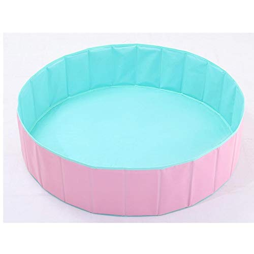 JIADUOBAO-Pool Round Pet Swimming-Pool, Faltbare Kunststoff-Becken, Pet Supplies (120 * 30cm) Pool