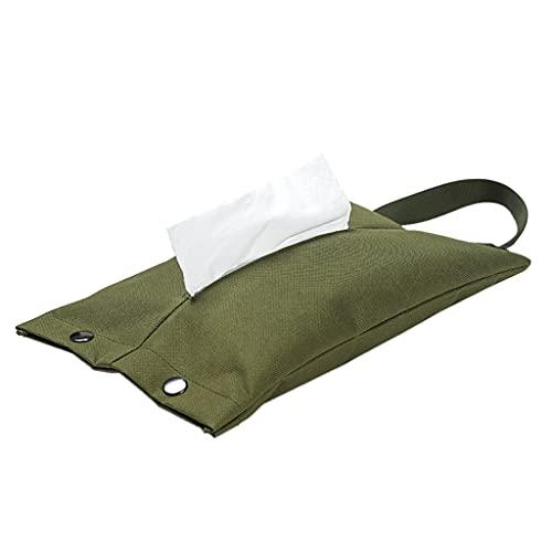 HUIJUAN Outdoor Camping Camping Hängen Papier Handtuchbezug Faltbare Serviettenbezug Picknick Küche Toilettenpapier Tasche