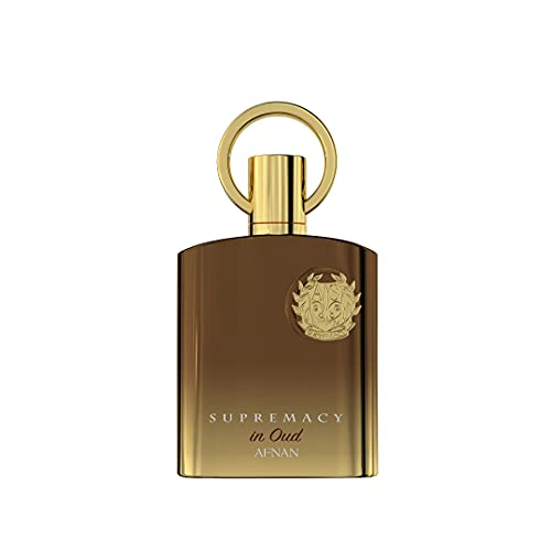 AFNAN Supremacy in Oud Eau De Parfum Spray Perfume 100ml Elegante botella para hombres
