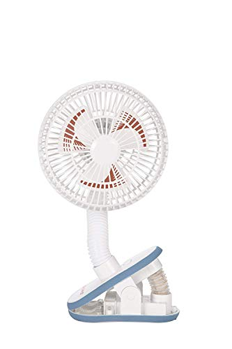 Diono Stroller Fan, Clip-On Portable Cooling Fan for Child...