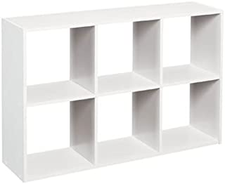 ClosetMaid 1578 Cubeicals Mini 6-Cube Organizer, White (Renewed)