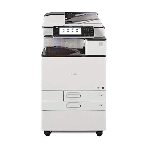 Ricoh Aficio MP C3003 A3 Color Multifunction Copier - 30ppm, Copy, Print, Scan, 2 Trays with Stand (Renewed)