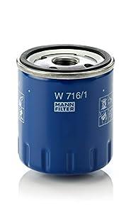 MANN-FILTER W 716/1 Original Filtro de Aceite, para automóviles