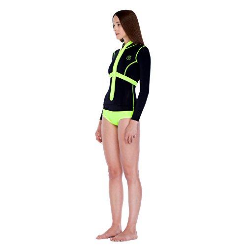 GlideSoul Damen Pour Femme-Corset zipp/é Devant Springsuit