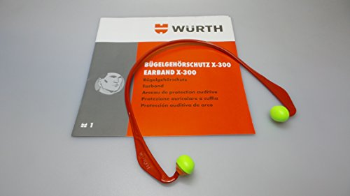 1x Würth Bügelgehörschutz x-300 Gehörschutz Mehrweg