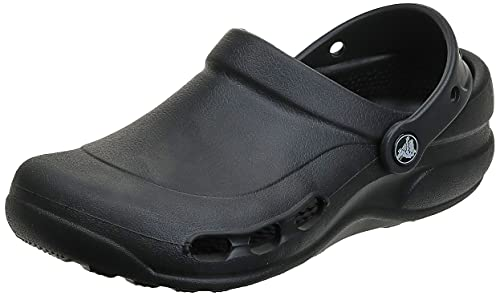 Crocs Unisex Specialist Vent Clog, Black, 7 US Men / 9 US Women