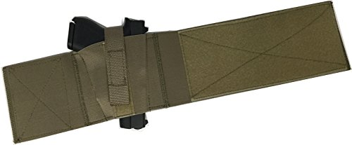 Daltech ForceSafestCarryBoot Wrap Ankle Gun Holster - CCW Concealed Carry Gun Holster for Over The Boot Military Olive Tan