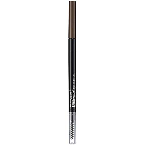 Maybelline New York - Crayon à Sourcils Double Embout - Brow Precise - Chatain foncé