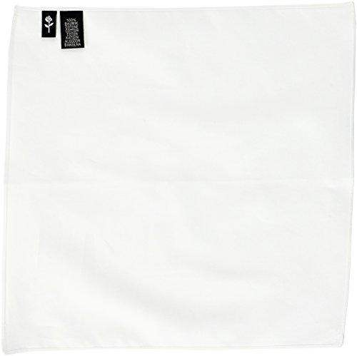 Seidensticker Herren Pochette Einstecktuch, Weiß (Weiß 01), One Size
