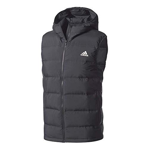 adidas Herren Helionic Vest Sport Jacket, Black, S