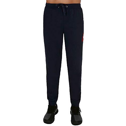 Fila Rocky - Pantaloni Sportivi da Uomo, Colore Blu Scuro, 3XL