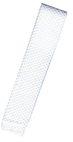 Reitsport Amesbichler - Cravatta lavorata a maglia, colore: bianco