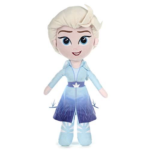 Posh Paws 37395 - Peluche Elsa Frozen 2, 25 cm, colore: Blu