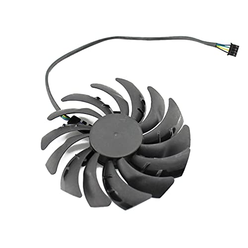 95mm PLD10010B12HH RTX2070 X-8G Fan del Enfriador para GeForce MSI RTX 2070 para EL Ventilador DE Enfoque DE LA Tarjeta DE Gaming Z (Blade Color : Blue)