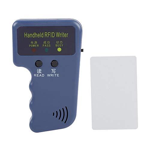 Handheld Card Duplicator RFID, Copier Writer Duplicator Programmer Reader, PDA/Reader / Schreiber, RFID 125 KHz mit +1 T5577 Karte