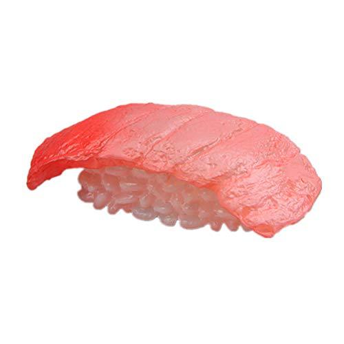 Hemoton Autoadesivo Magnetico del Frigorifero del Fumetto del Magnete di Serie di Sushi Adesivi magnetici creativi (Sushi di Color Salmone)