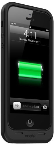 mophie juice pack Air for iPhone 5/5s/5se (1,700mAh) - Black