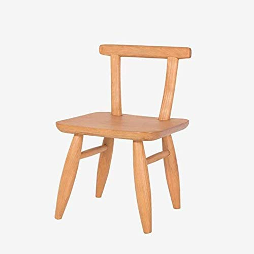 A/N Cushion Footstool Ottoman Chair - Household Wood Log Chair Small Chair Stool Bench Dinette Combination Dining Chair