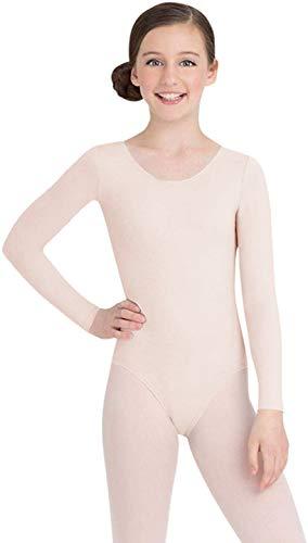 Capezio Little Girls' Team Basics Long Sleeve Leotard,Ballet Pink,T (2-4)